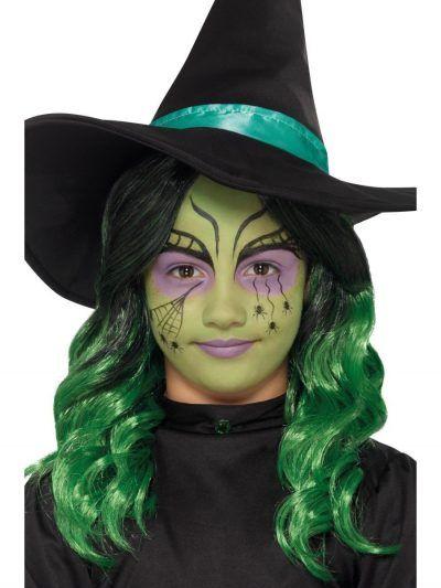 maquillaje de bruja para niñas bonita 3 » Maquillajes de Brujas para Halloween 19