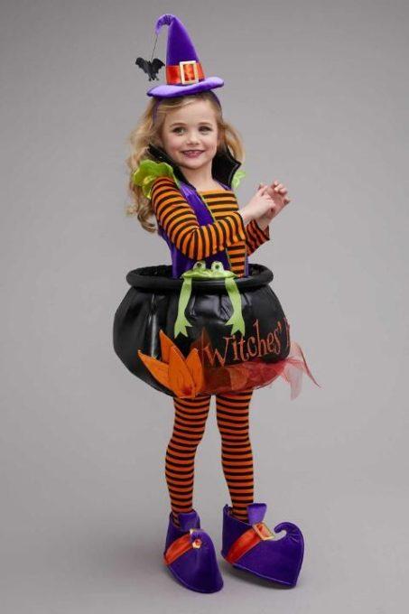 maquillaje de bruja para niñas bonita 4 » Maquillajes de Brujas para Halloween 20
