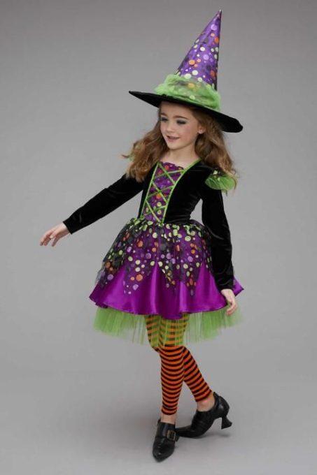 maquillaje de bruja para niñas bonita 6 » Maquillajes de Brujas para Halloween 22