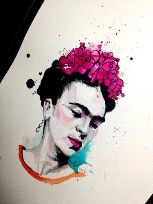 tatuajes frida kahlo 1 • 2020 » Ideas Originales para Tatuajes de Frida Kahlo 2