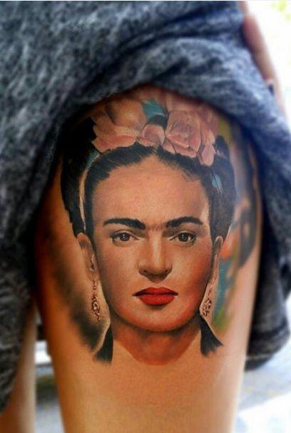 tatuajes frida kahlo 3 • 2020 » Ideas Originales para Tatuajes de Frida Kahlo 4