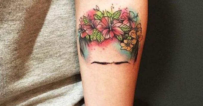 tatuajes frida kahlo 4 • 2020 » Ideas Originales para Tatuajes de Frida Kahlo 1
